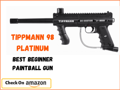 Tippmann 98 Platinum, Best Beginner Paintball Gun