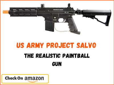 Tippmann US Army Project Salvo, The Realistic Paintball Gun
