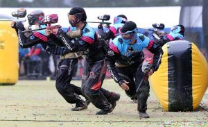 Start paintballing to expand your team