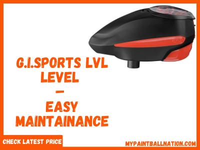 G.I.Sports LVL level Paintball Hopper