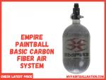 Empire Paintball Basic Carbon Fiber Air System