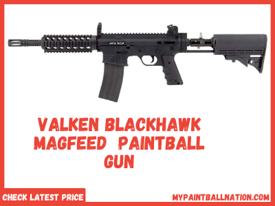 Valken Blackhawk Magfeed Paintball Gun - MFG Black