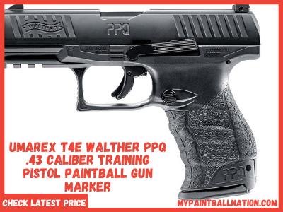 umerex t4e walther ppq 43 caliber training pistol