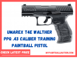 Umarex T4E Walther PPQ .43 Caliber Training Paintball Pistol