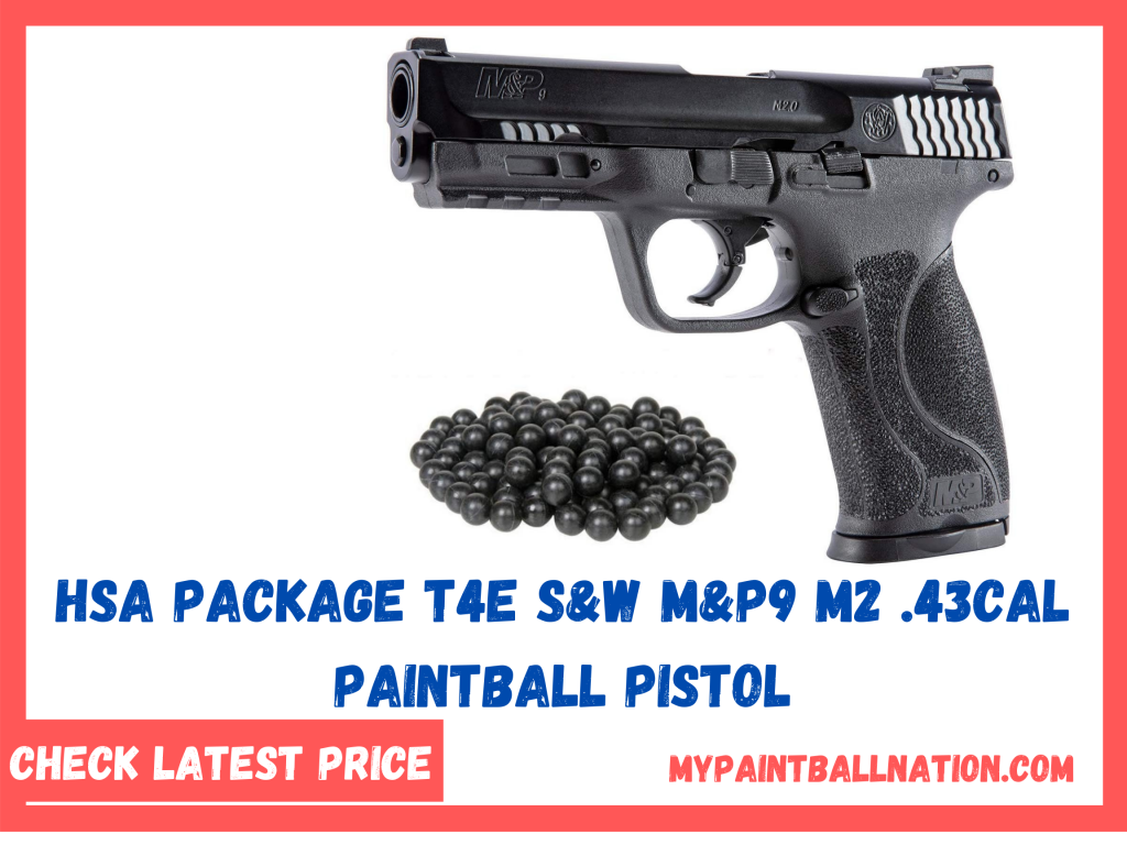 HSA Package T4E S&W M&P9 M2 .43cal