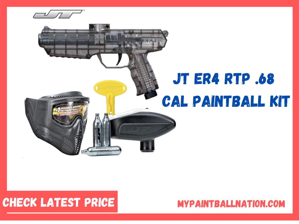 JT ER4 RTP .68Cal Paintball Kit